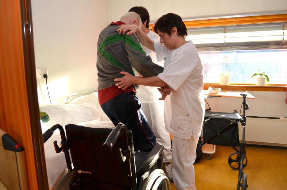 Dette er et illustrasjonsbilde fra Moen sykehjem.