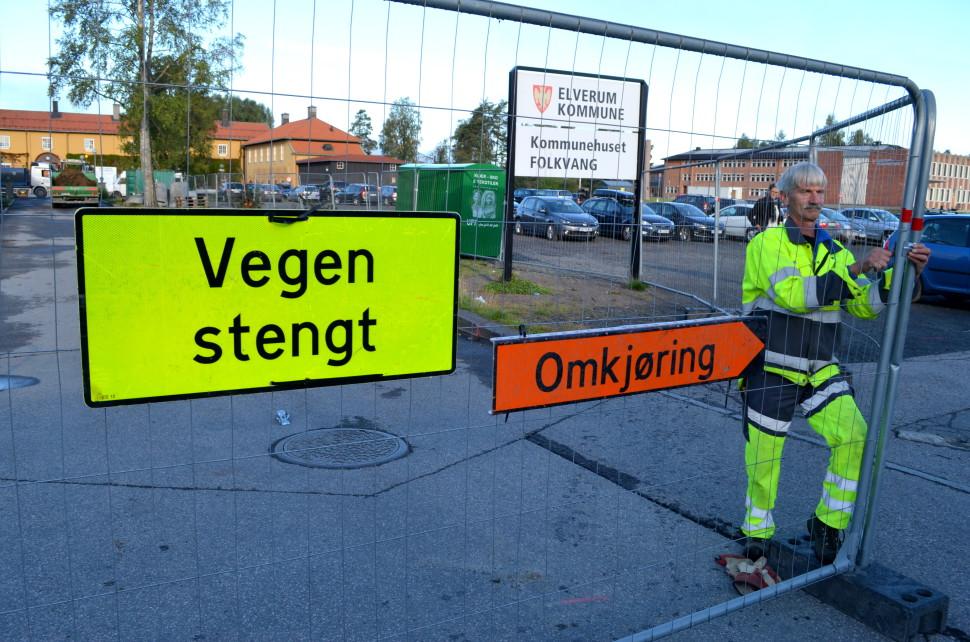 Dette er et illustrasjonsbilde tatt av en av de ansatte hos teknikk og miljø, Ola Engen.