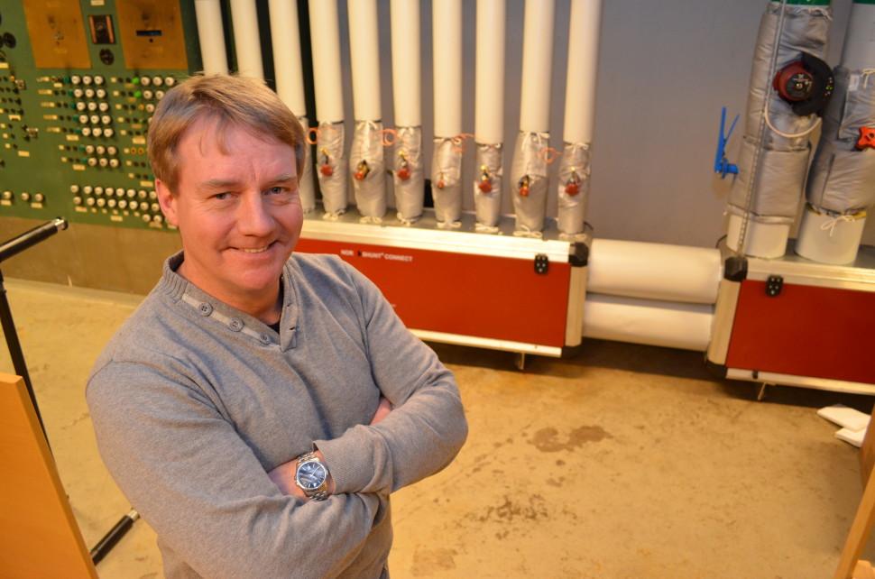 Svein Arild Nyhus er energiansvarlig i Elverum kommune.