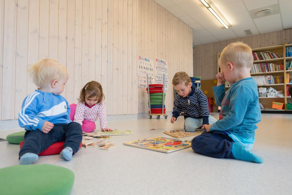 Dette er et illustrasjonsbilde fra Terningen barnehage.