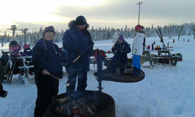 Et bilde fra uteaktivitet ved Søndre Nyborg bofellesskap.